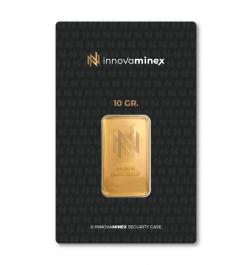 Gold Bar 10gr InnovaMinex Design