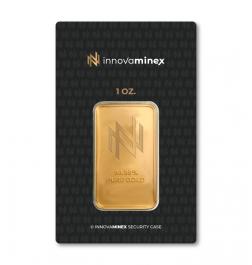 Gold Bar 1oz InnovaMinex Design