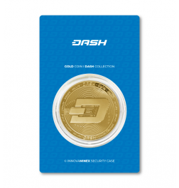 Gold Coin 10gr Dashcoin Design