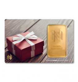 Gold Bar 1oz InnovaMinex Present Design