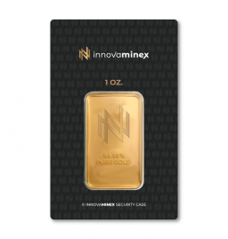 Gold Bar 1oz InnovaMinex Design
