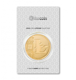 Gold Coin 10gr Litecoin Design
